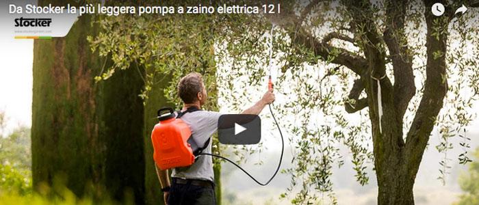 La più leggera pompa a zaino elettrica