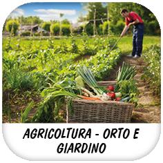 AGRICOLTURA-ORTO E GIARDINO